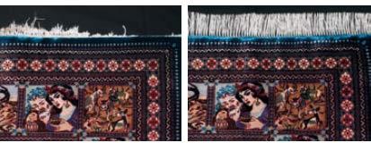 Galerie RUMI | Teppichschäden | ausfransen