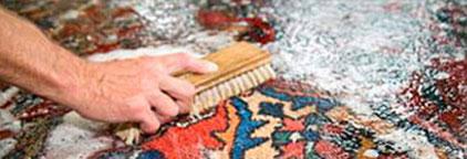 Galerie RUMI | Service | Teppichwäsche