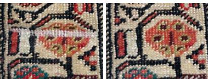 Galerie RUMI | Teppichschäden | trittwellen