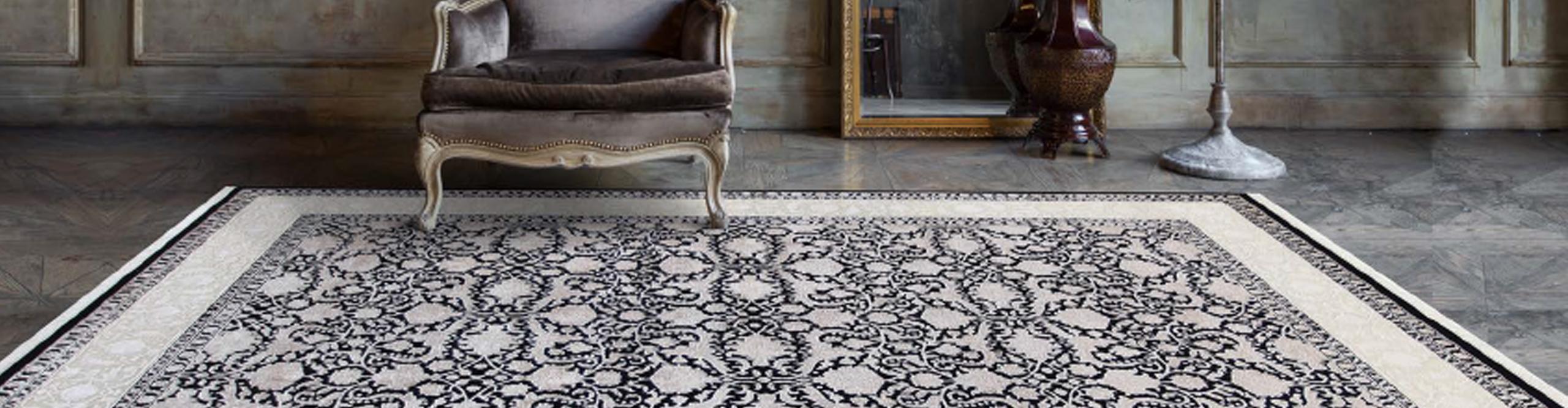 Galerie Rumi | Teppich schwarz